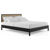 Caledonia Rattan Queen Size Bed Frame