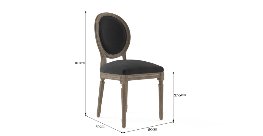 Louis Set of 2 Dining Chairs