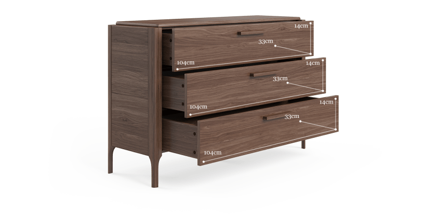 Siena Chest of Drawers