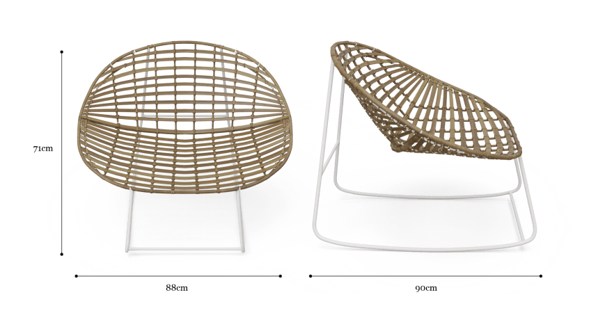 Riviera Outdoor Rocking Chair