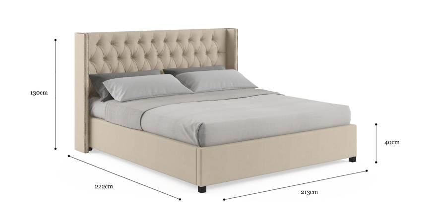 Stella King Standard Bed Frame