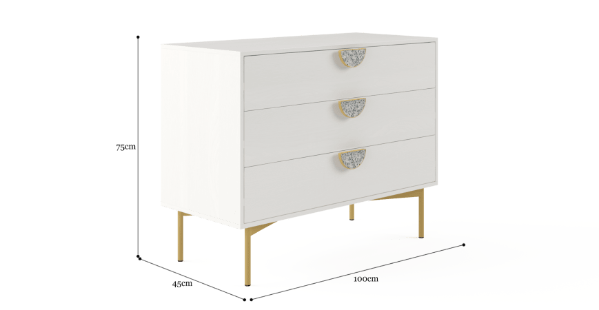 Greta Compact Chest of Drawers