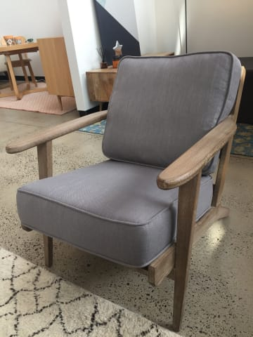 Lucca armchair stone grey 03