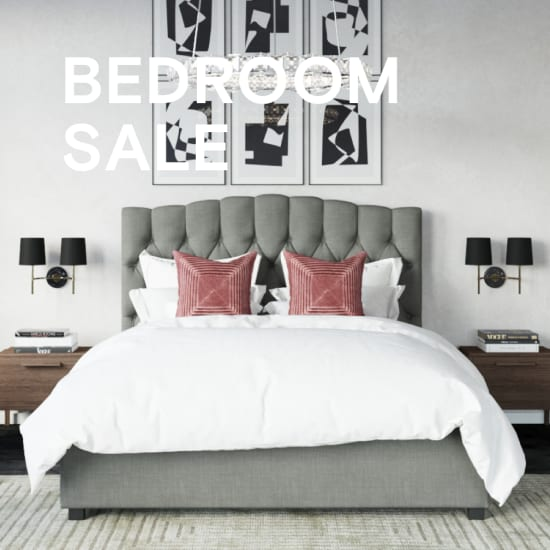 Bedroom sale banner