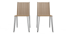 Sorelle Outdoor 2x Dining Chair