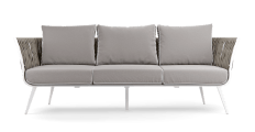 Mandalay Outdoor 3 Seater Sofa