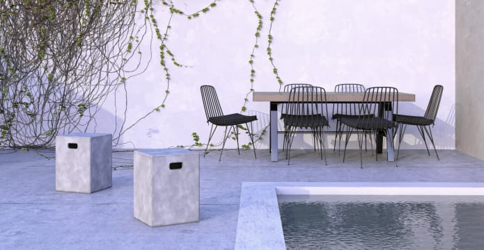 Smeaton Outdoor Stool Table