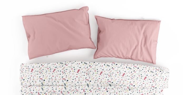 Playful Geometrics Duvet Cover Set