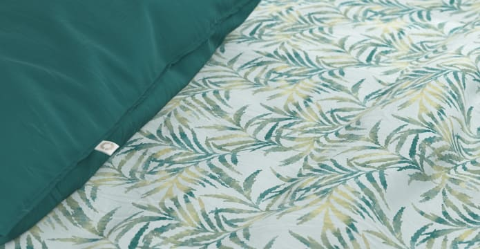 Tropical Palm Duvet Cover Set