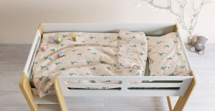 Prickly Pear Kids Duvet Cover Set