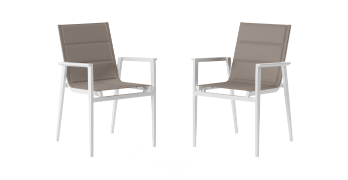 Thornton Outdoor Dining Chair Set of 2