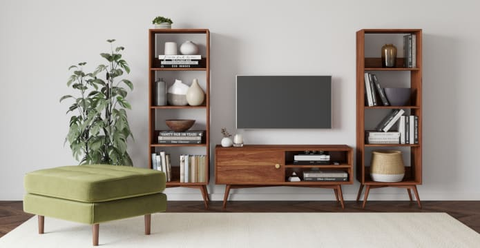 Frank Open Bookcase