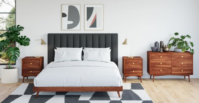 Frank Queen Size Bed Base