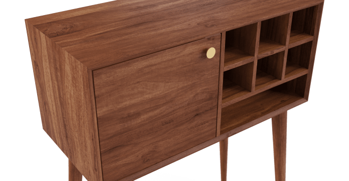 Frank Compact Bar Cabinet