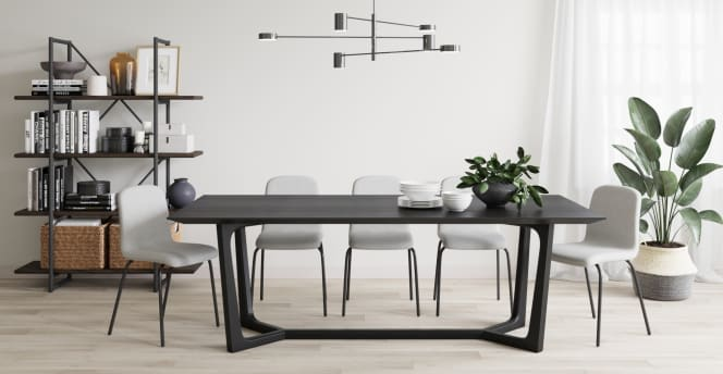 Trapez Dining Room Table