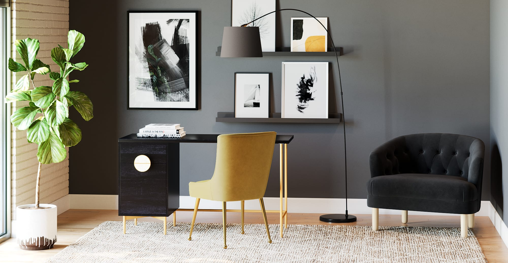 office furniture - Stylish office furniture - Greta Desk