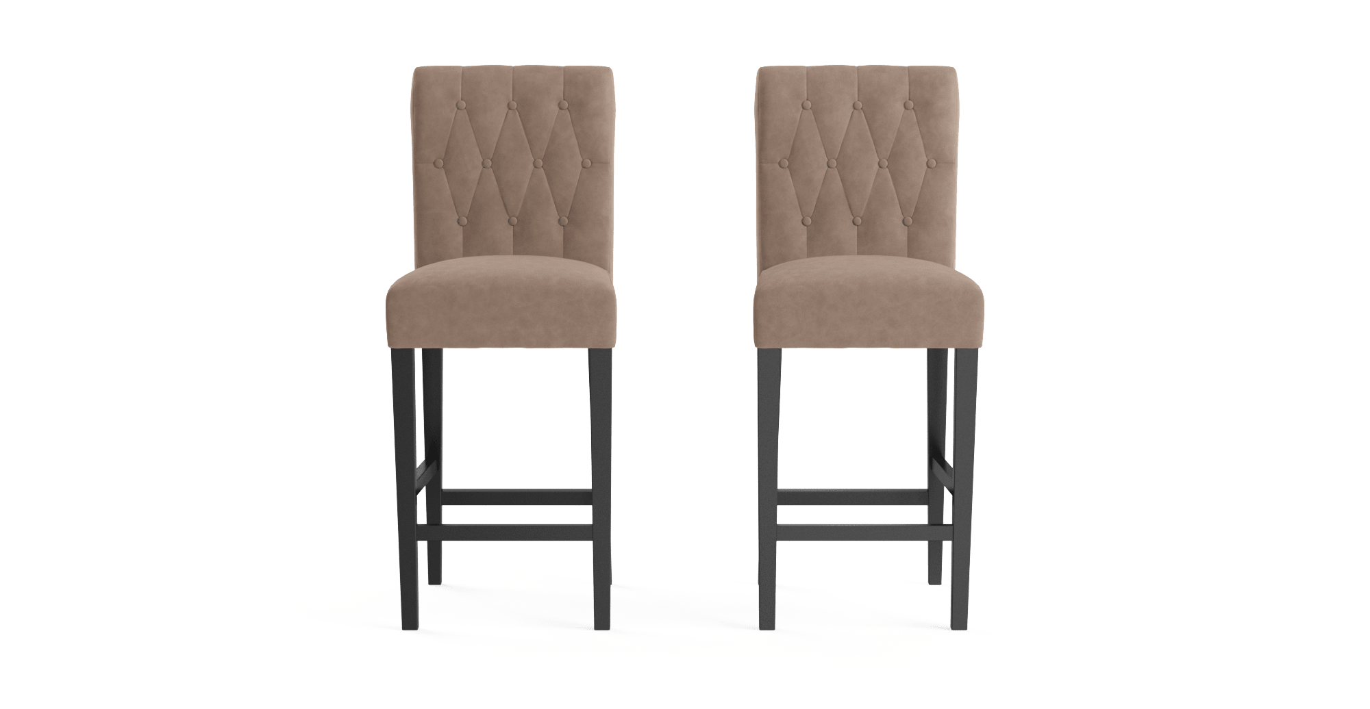 leather walmart brown com ip roby stool set bar of backless stools