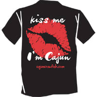 Kiss Me I'm Cajun T-shirt - Small
