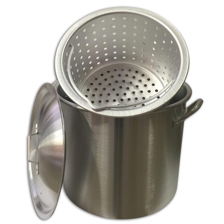 80 qt. Crawfish Boiling Pot | Aluminum