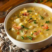 crawfish, corn & potato soup