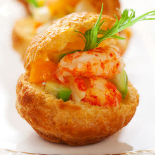 crawfish salad brioche