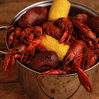 boiling crawfish