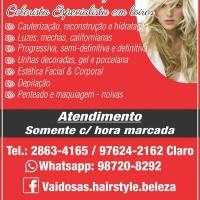 vaidosas hair style SALÃO DE BELEZA