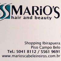 Mario's Cabeleireiros SALÃO DE BELEZA