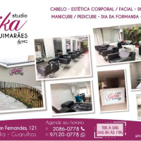 Vaga Emprego Cabeleireiro(a) Vila Rosália GUARULHOS São Paulo SALÃO DE BELEZA Studio Gika Guimaraes