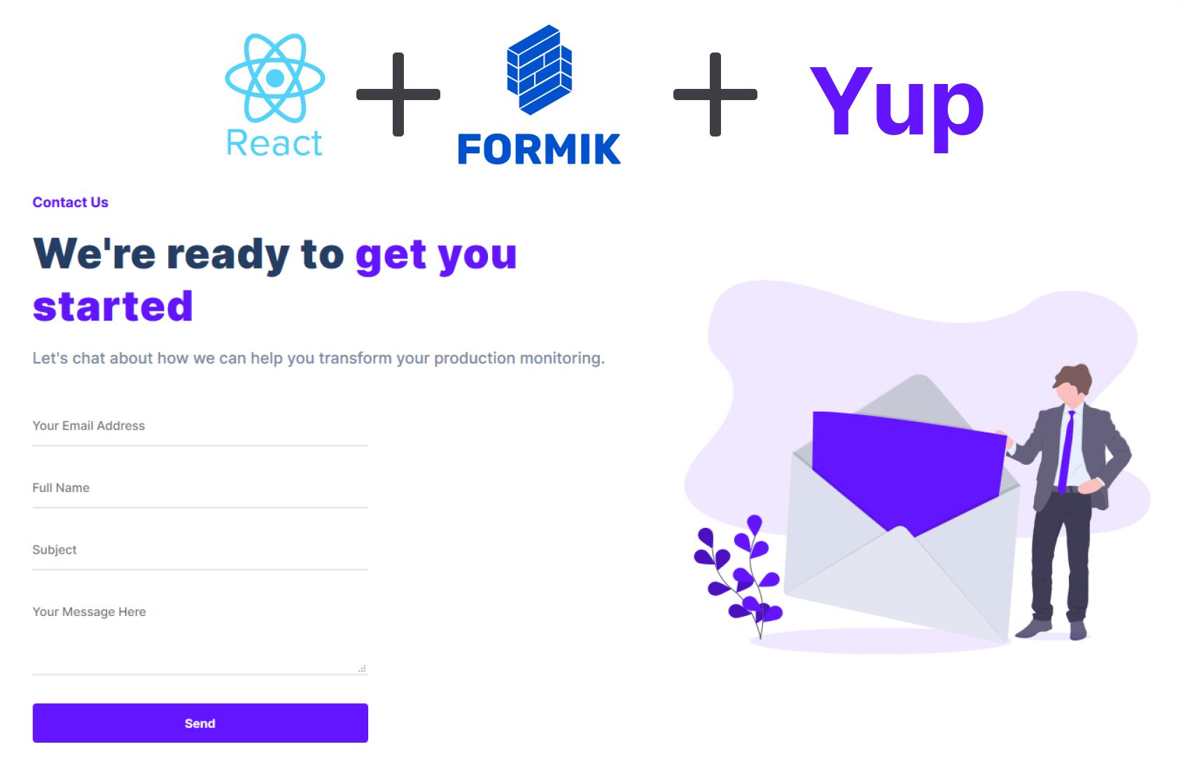 Step-by-step: How to build forms with formik and react