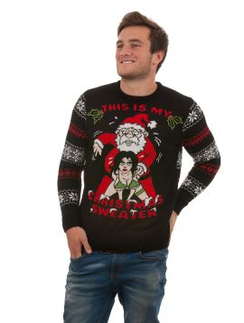 Ugly 'This Is My Christmas Sweater' For Men - Front View