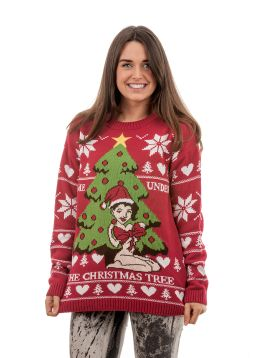 Tacky 'Find Me Under The Christmas Tree' For Women - Front View