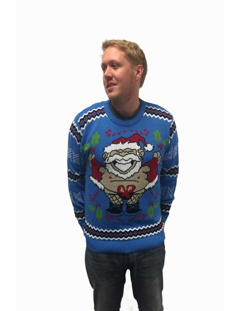 Santa Flash Sweater