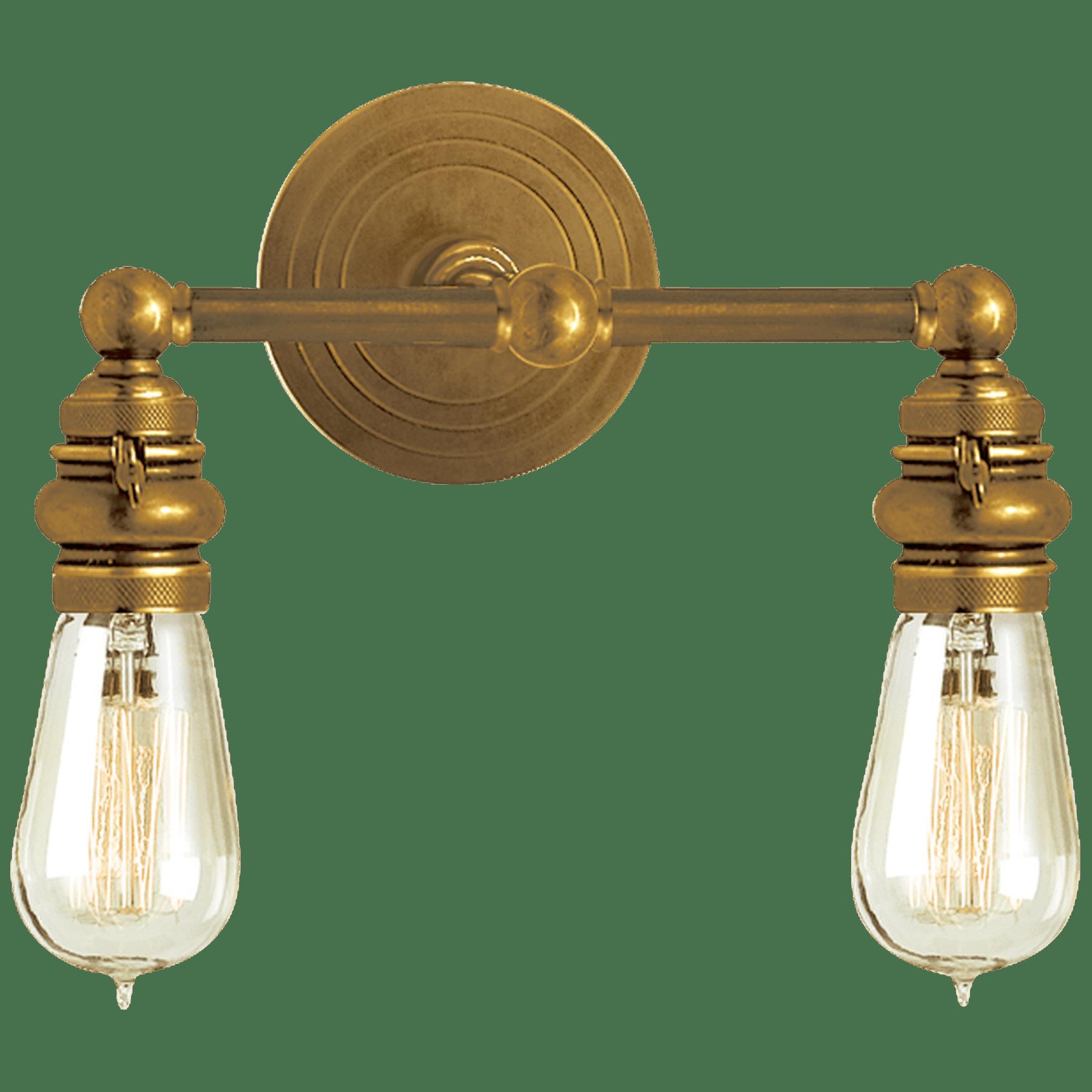 Boston Functional Double Light Circa Lighting