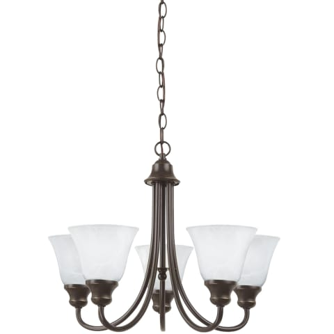 Windgate Five Light Chandelier  Heirloom Bronze