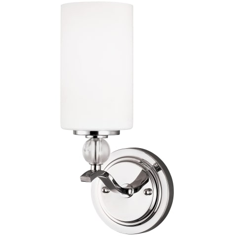 Englehorn One Light Wall / Bath Chrome