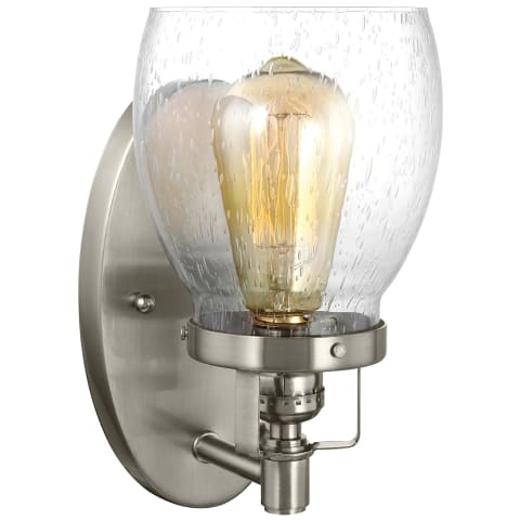 Belton One Light Wall / Bath Sconce Brushed Nickel