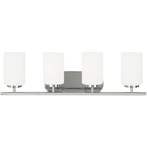Oslo Four Light Wall / Bath Chrome