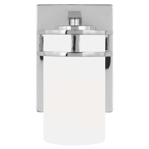 Robie One Light Wall / Bath Sconce Chrome