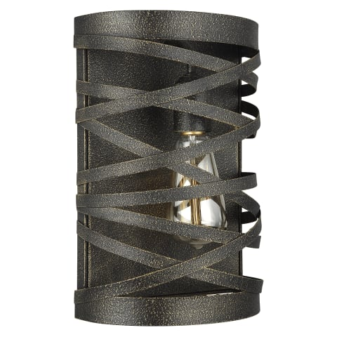 Cowen One Light Wall / Bath Sconce Obsidian Mist