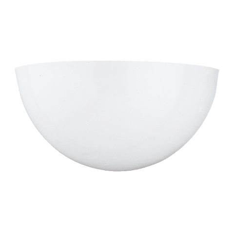 One Light Wall / Bath Sconce White