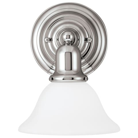 Sussex One Light Wall / Bath Sconce Chrome