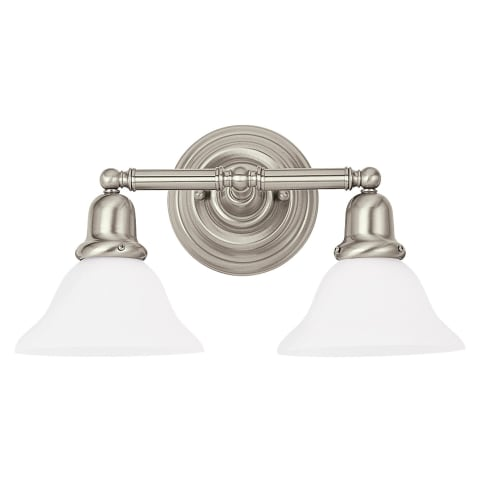 Sussex Two Light Wall / Bath Brushed Nickel