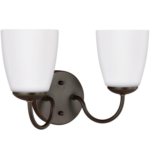 Bannock Two Light Wall / Bath Heirloom Bronze Bulbs Inc
