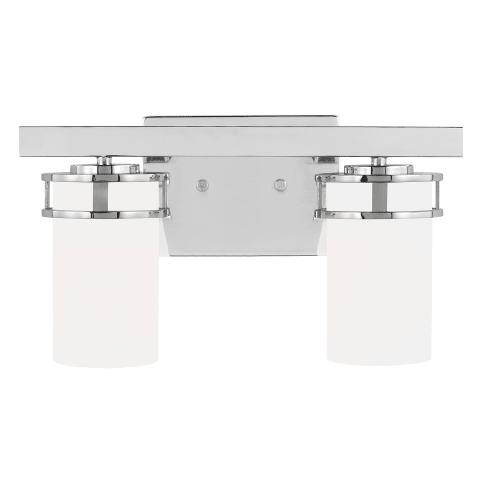 Robie Two Light Wall / Bath Chrome