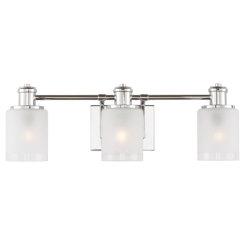 Norwood Three Light Wall / Bath Chrome