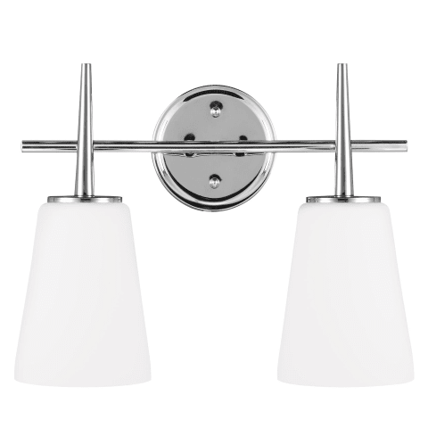 Driscoll Two Light Wall / Bath Chrome