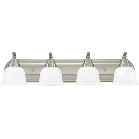 Wheaton Four Light  Wall / Bath Brushed Nickel