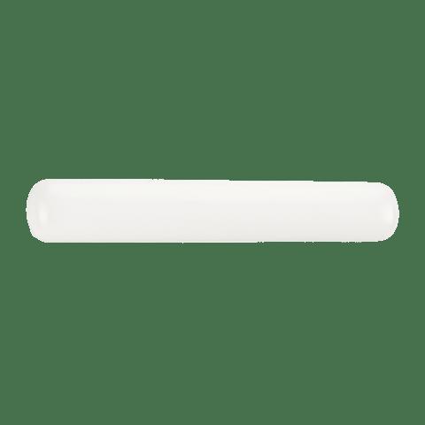 Two Light Wall / Bath White Plastic