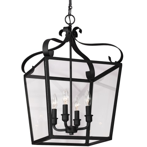 Lockheart Four Light Hall / Foyer Heirloom Bronze
